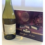 Mother's Day Wine and Chocolate Gift Box