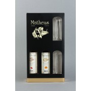 MATHEUS Mini Mix Gift Box with shot glasses