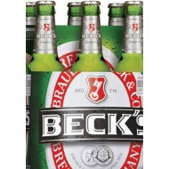 Beck's Beer 6 x  0.5L FULLY IMPORTED