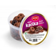 Chocolate Ring Biscuits in a bucket 700g by Detki