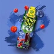 Blueberry and Acerola with Vitamin C -Antioxidant - SUPERFRUIT Juice by RAUCH