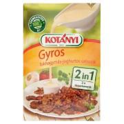 Gyros  with Garlic-Yoghurt  Sauce 2 in 1 by Kotányi