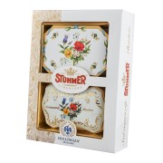 Stuhmer Daisy Pralines selection with Hollohazi Porcelan 250g
